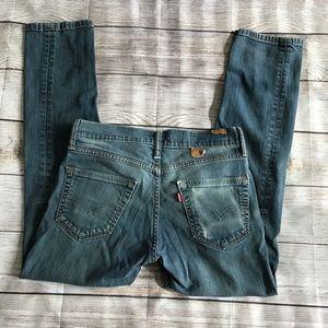 Levi's 511 Med Wash straight leg jeans